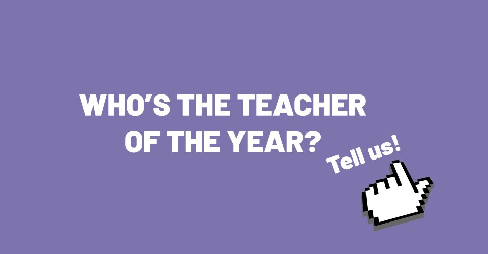 Ehdota vuoden opettajaa // Suggest the teacher of the year